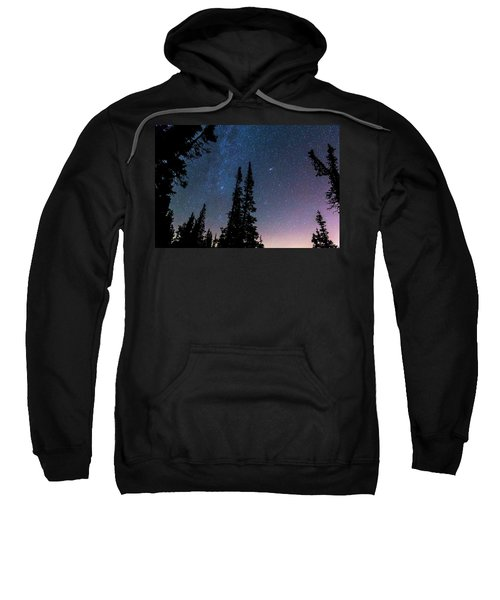 Sweatshirt featuring the photograph Getting Lost In A Night Sky by James BO Insogna