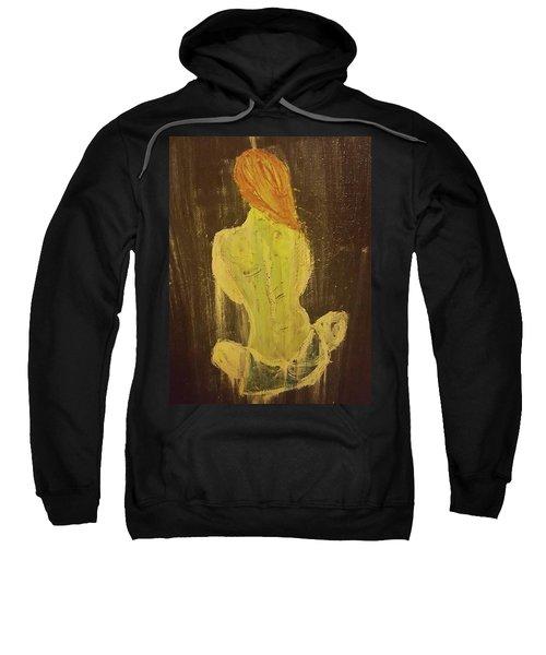 Silence Sweatshirt by Jennifer Meckelvaney