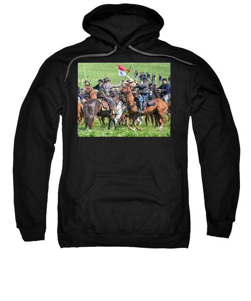 Gettysburg Cavalry Battle 8021c  Sweatshirt
