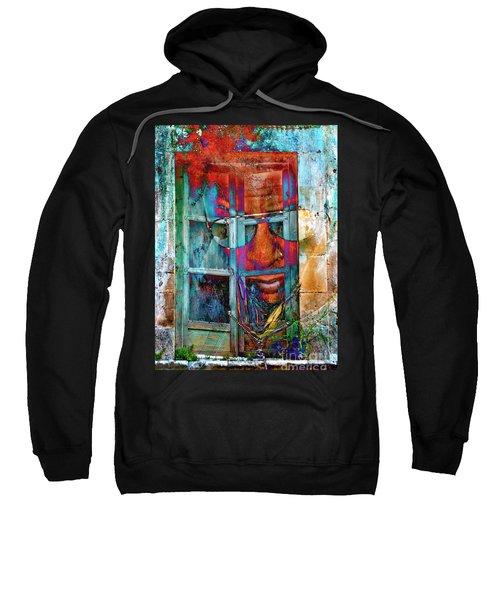 Ghost Goes Through Wall Sweatshirt