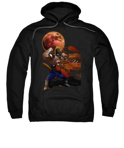 Giant Monkey Vs Shen Long Sweatshirt