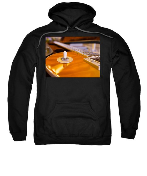 Yellow Quilt Guitar Top Sweatshirt