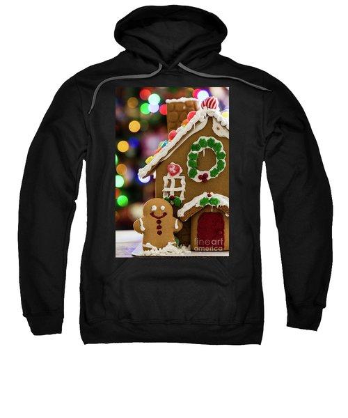 Gingerbread House For Christmas Sweatshirt