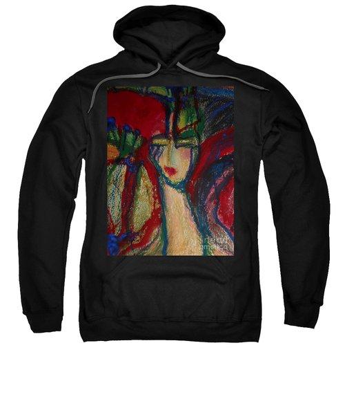 Girl In Darkness Sweatshirt