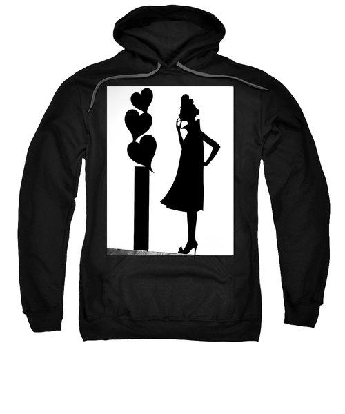 Girl_02 Sweatshirt