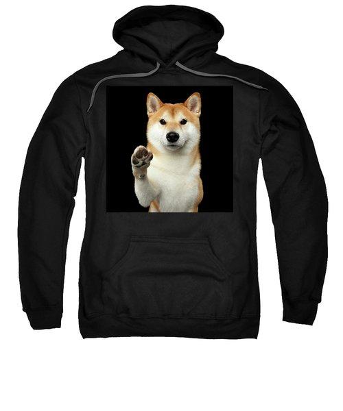 Give Me A Hand Man Sweatshirt