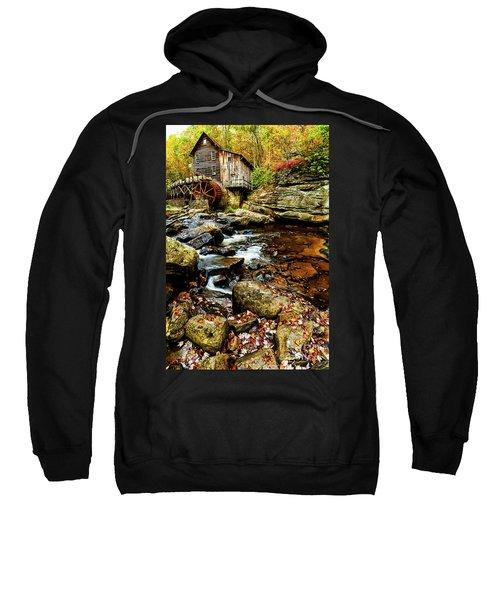 Glade Creek Grist Mill Fall  Sweatshirt