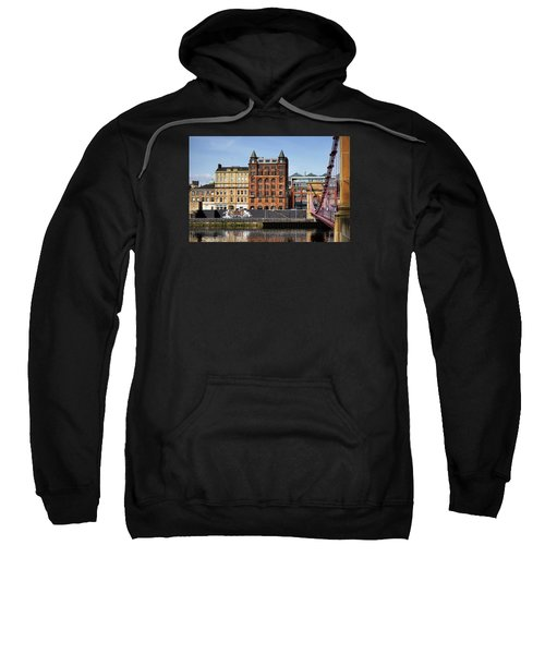 Sweatshirt featuring the photograph Glasgow by Jeremy Lavender Photography