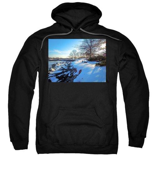 Glen Island Snowfall Sweatshirt