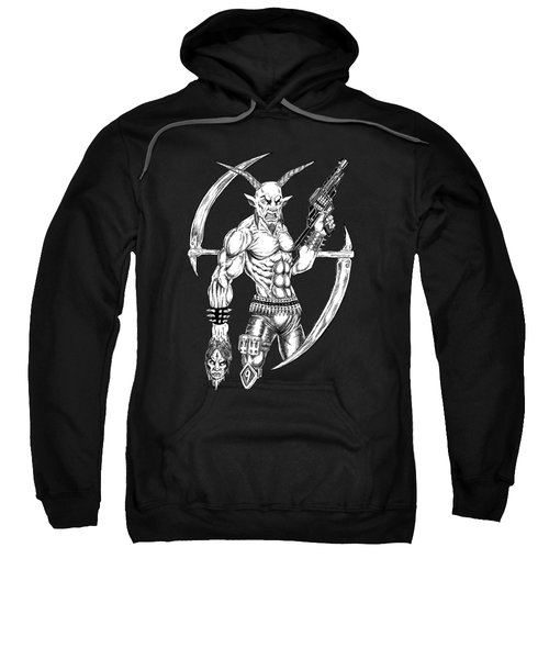 Goatlord Reaper Sweatshirt by Alaric Barca