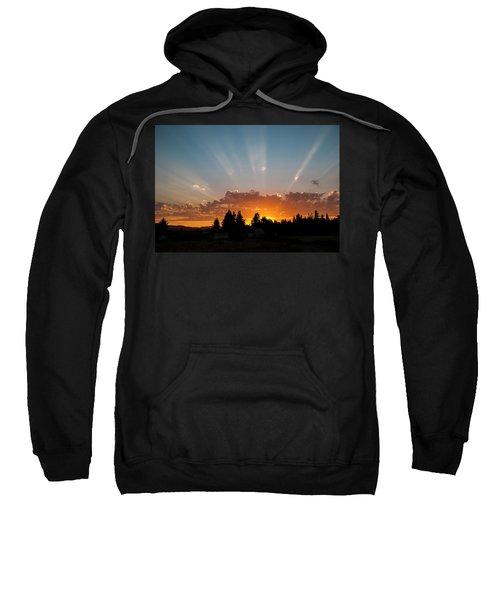 God Beams Sweatshirt