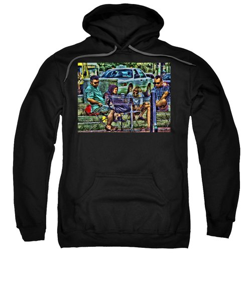 Going Places From Harvard Square Sweatshirt