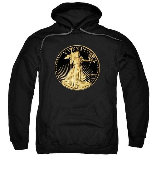 Gold Coin Front Sweatshirt