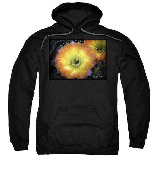Golden Cactus Bloom Sweatshirt