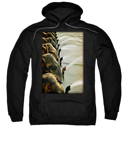 Golden Elephant Fountain Sweatshirt