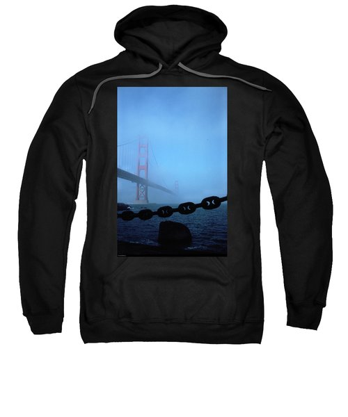 Golden Gate Bridge From Fort Point Sweatshirt