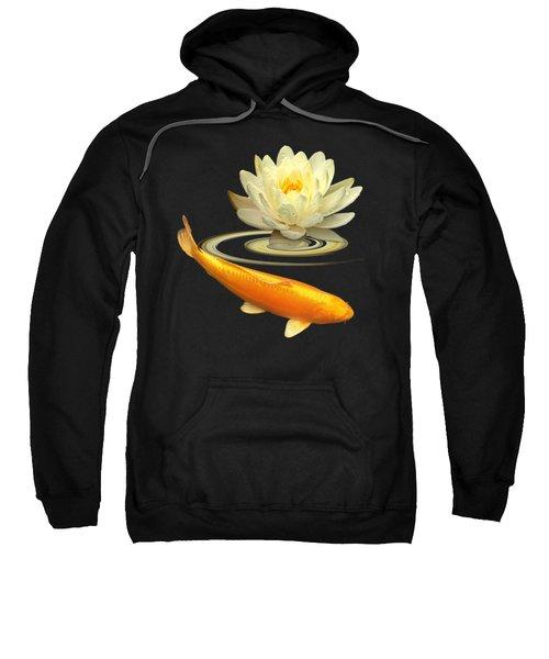 Golden Harmony Square Sweatshirt