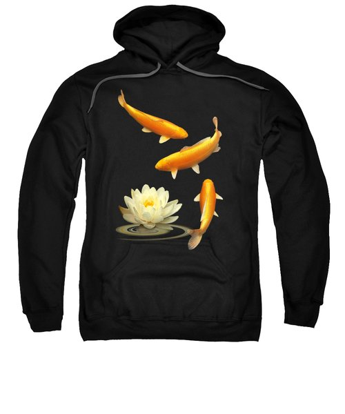 Golden Harmony Vertical Sweatshirt by Gill Billington