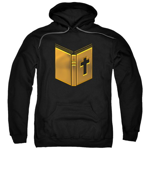 Golden Holy Bible Sweatshirt