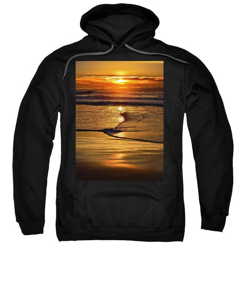 Golden Pacific Sunset Sweatshirt