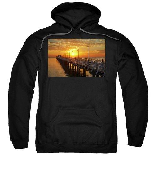 Golden Sunrise Down By The Bay Sweatshirt