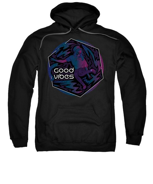 Good Vibes Skelegirl Sweatshirt