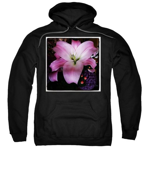 Sweatshirt featuring the photograph Gorgeous Flowers. Real. I Think They by Mr Photojimsf