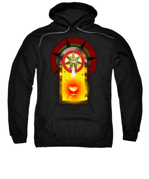 Grail Magic By Pierre Blanchard Sweatshirt by Pierre Blanchard