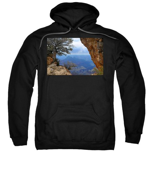 Grand Canyon North Rim Window In The Rock Sweatshirt