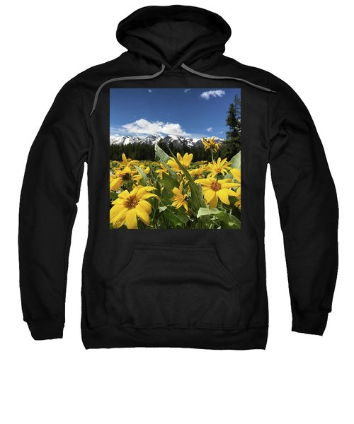 Grand Teton Mountains Sweatshirt
