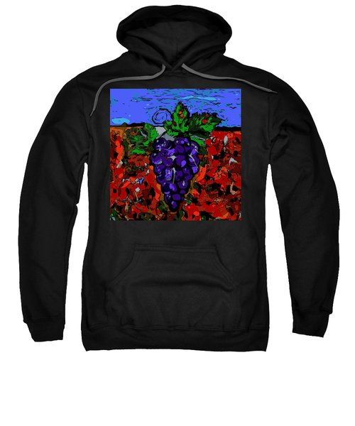 Grape Jazz Digital Sweatshirt