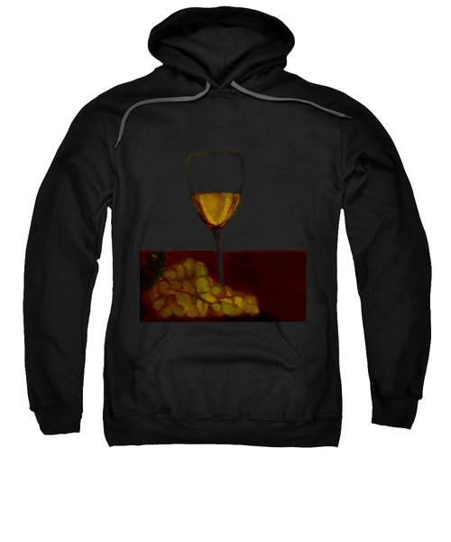 Grapes With Wine Sweatshirt