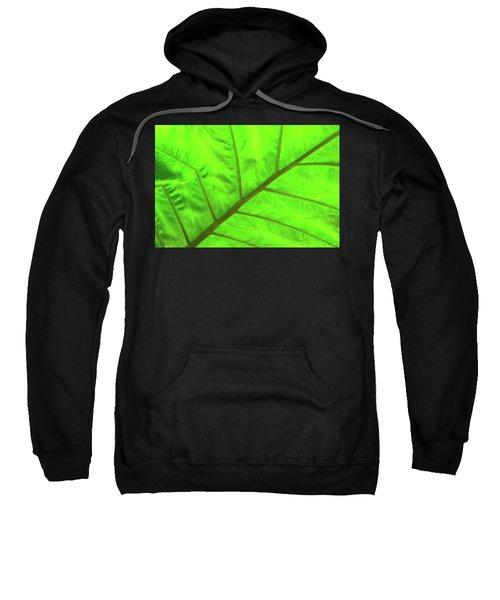 Green Abstract No. 5 Sweatshirt