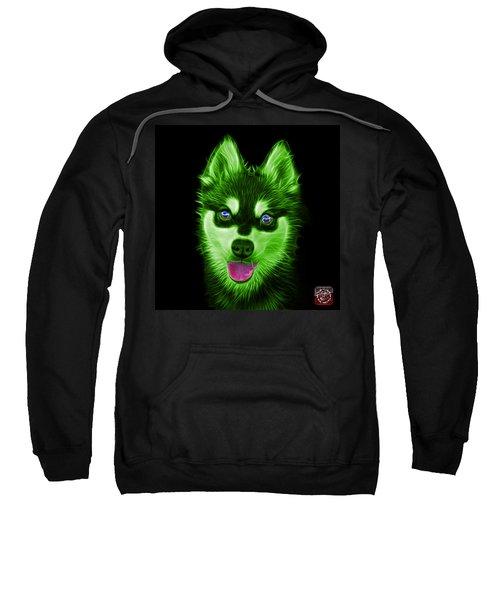 Green Alaskan Klee Kai - 6029 -bb Sweatshirt
