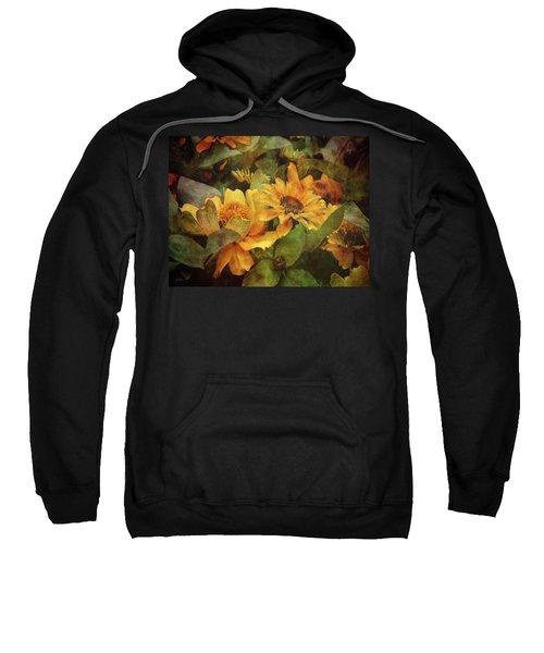 Green And Gold 1068 Idp_2 Sweatshirt