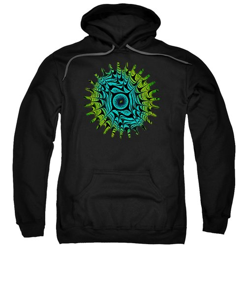 Green Dragon Eye Sweatshirt