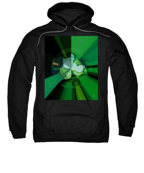 Green Glass Wheels Sweatshirt