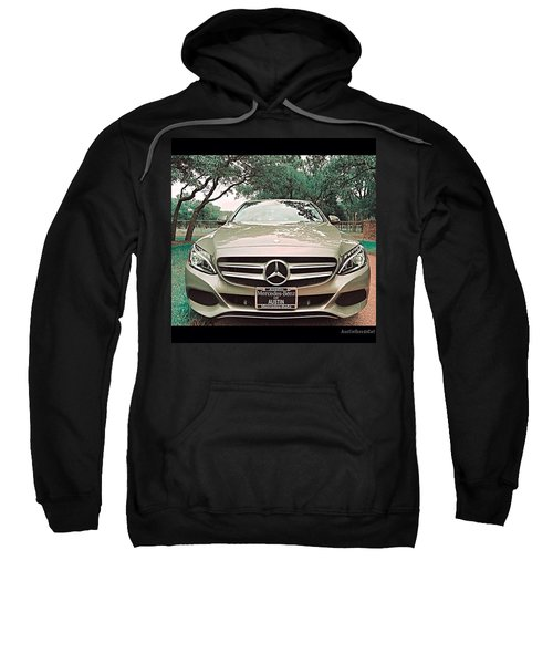#grey #sky And A #silver Grey #car Sweatshirt