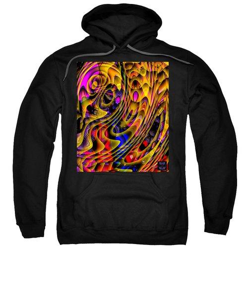 Guitar Abstract Sweatshirt