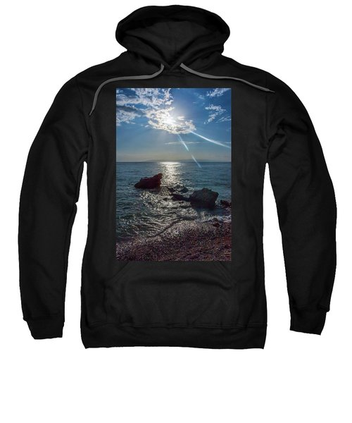 Haitian Beach In The Late Afternoon Sweatshirt