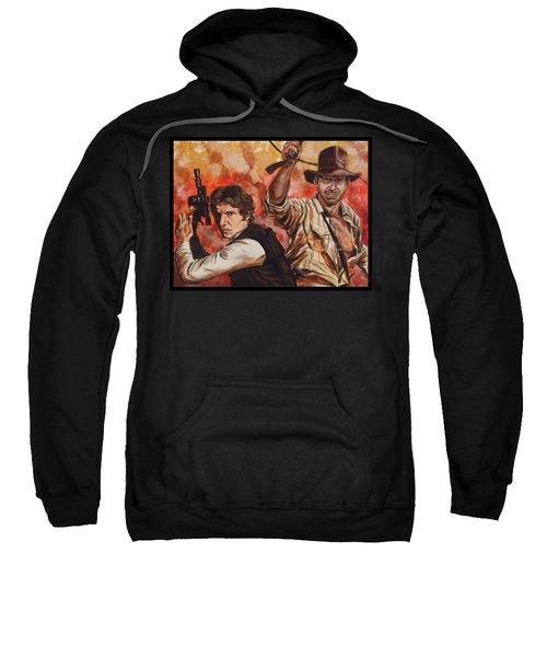 Han Solo And Indiana Jones Sweatshirt
