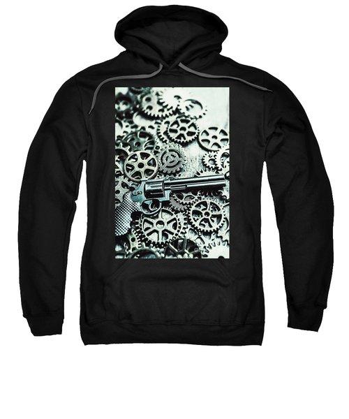 Handguns And Gears Sweatshirt