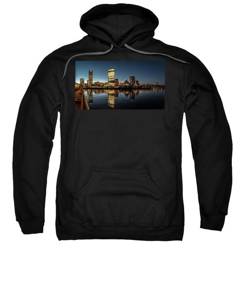 Harbor House View Sweatshirt by Randy Scherkenbach