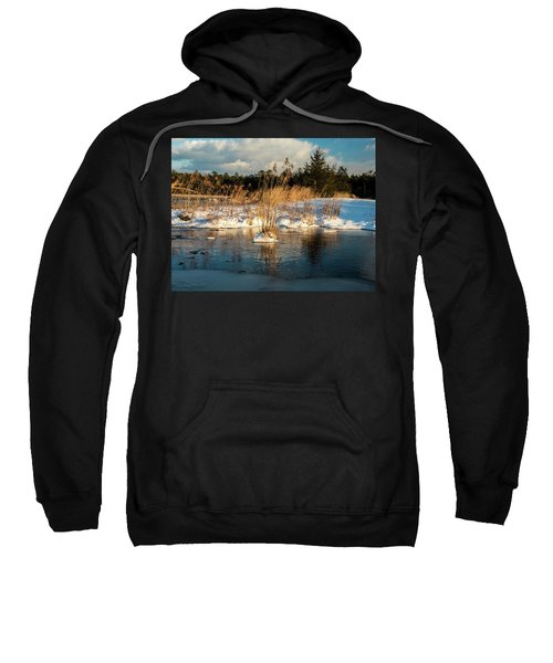Hard Frosts And Icy Drafts Sweatshirt