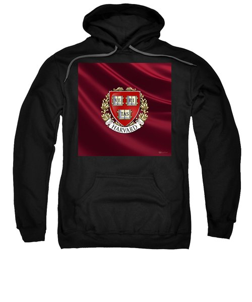 Harvard University Seal Over Colors Sweatshirt by Serge Averbukh