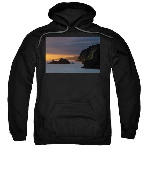 Hawaii Sunrise At The Pololu Valley Lookout Sweatshirt