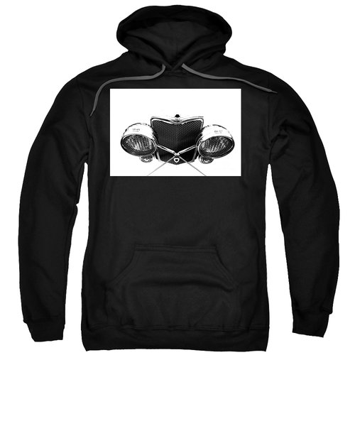 Sweatshirt featuring the photograph Headlights by Stephen Mitchell