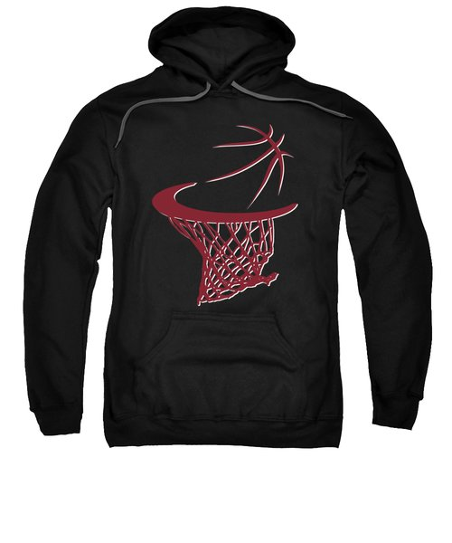 Heat Basketball Hoop Sweatshirt by Joe Hamilton