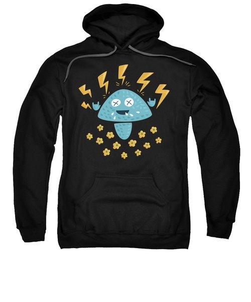 Heavy Metal Mushroom Sweatshirt