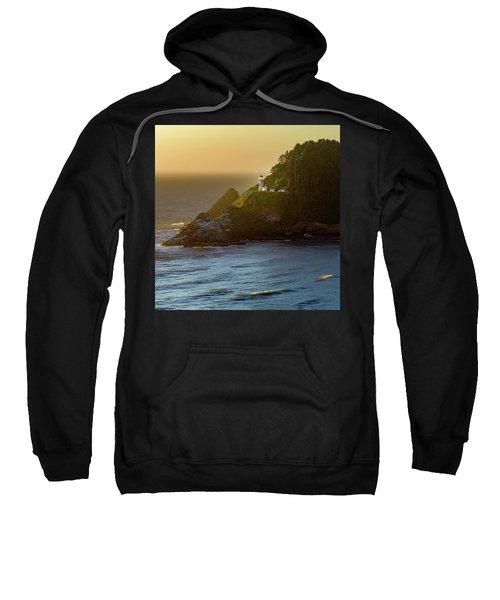 Heceta Head Lighthouse At Sunset Sweatshirt